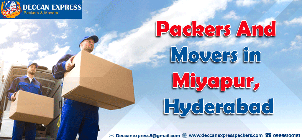 Packers and Movers in Miyapur Hyderabad