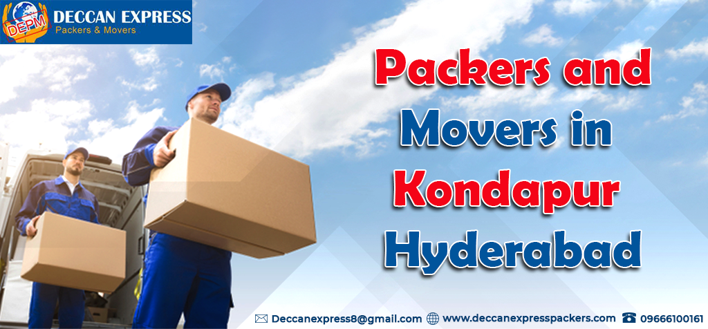 Packers and Movers in Kondapur Hyderabad