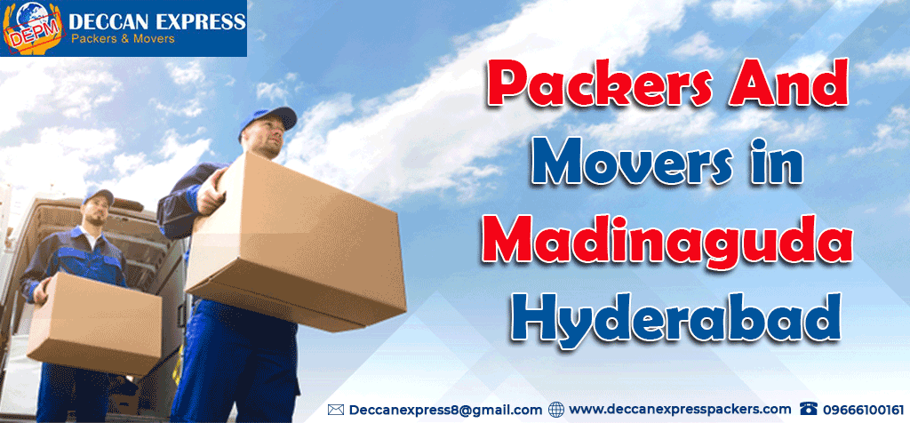 Packers and Movers in Madinaguda, Hyderabad