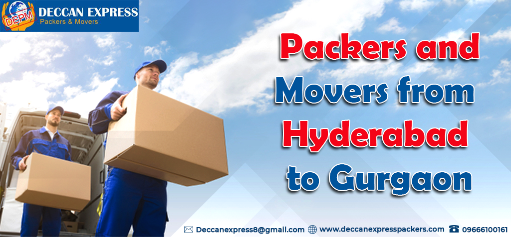 Packers and Movers From Hyderabad to Gurgaon