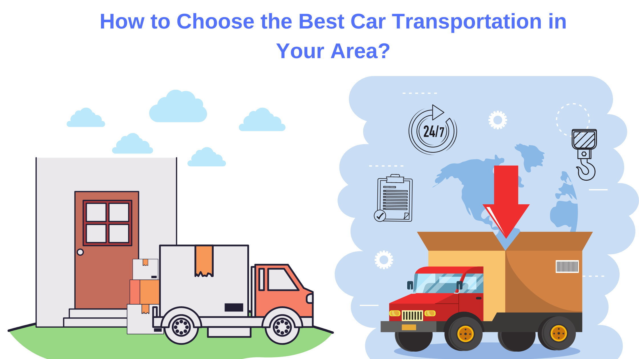 How to Choose the Best Car Transportation in Your Area?